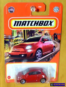 Matchbox Fiat 500 Turbo [Red] 2021 - New/Sealed/VHTF [E-808]