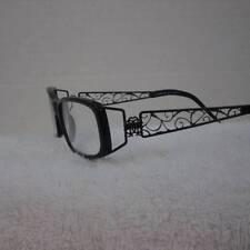 Roberto Cavalli Turchese  418 Black Metal PlasticFull Frames 55-14 130