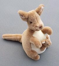 Kangeroo Plush Pooh Classic Kanga & Roo Gund Stuffed Animal Joey 10 inches