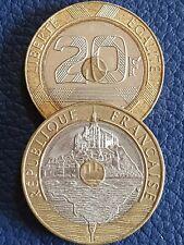 20 Francs Mont Saint-Michel (1992-1995) choisissez votre année !