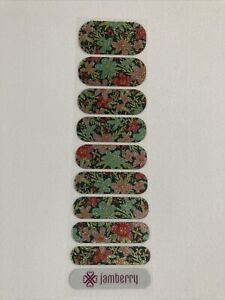 Jamberry Nail Wraps Half Sheet of Sweet September RARE NEW