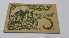monsterrat early 1900 postcard booklet u.i.o.g.d spain