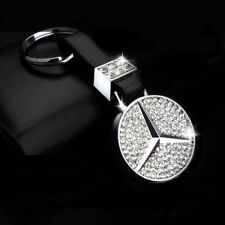 Zinc Alloy Mercedes Benz Crystal C E G S SLK SL AMG key chain keychain ring fob