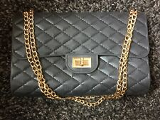 MATT Black Bag MANICO CATENA