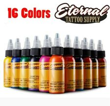 16Pcs Tattoo Eternal Tattoo Ink Set Colors Set 1oz 30ml Pigment HIGH QUALITY
