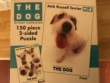 Rose Art The Dog-Jack Russel Terrier-150 piece 2 sided puzzle - open never used