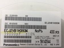 (250 pcs)Panasonic–ECJ-2VB1H393K, .039uF 50V 10% size:0805, Chip Capacitor(MLCC)