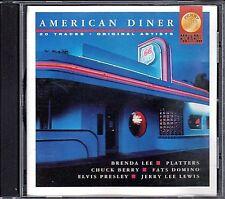 American Diner~Brenda Lee~Rick Nelson~Chuck Berry~Various Artist~CD~VG Cond.