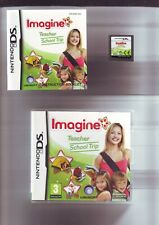 IMAGINE TEACHER SCHOOL TRIP - GIRLS NINTENDO DS GAME / LITE DSi 3DS COMPLETE VGC