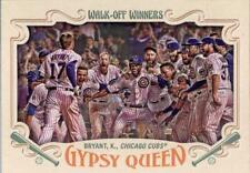 2016 Topps Gypsy Queen Walk Off Winners #GWO10 Kris Bryant