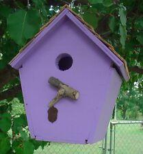 Cabin Birdhouse