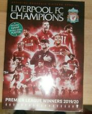 Official Souvenir Picture Special Liverpool FC Champions Magazine 2020