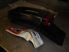 UFO Plastics Black Rear Fender with Tail Light CR YZ KX KTM RM PP01211-001