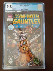 Infinity Gauntlet #1 CGC 9.8