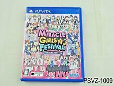 Miracle Girls Festival Japanese Import PS Vita Sega Festa Region Free US Seller