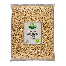 Organic Soya Chunks Fine 5kg Certified Organic