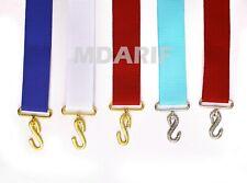 masonic regalia-Masonic Apron Belt/ Extenders All Ranks And Colors) Good Quality