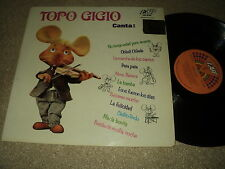 "@ TOPO GIGIO 33 TOURS LP 12 "" ITALY CANTA * COVER BEATLES"