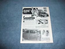 1939-'40 Ford Coupe Suicide Doors Custom How-To Tech Info Article