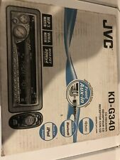 Jvc Kd-G340 Cd Player In Dash Receiver New with Original Package