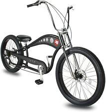 Vancouver 7 Speed Beach Cruiser Bike Chopper Style Hi Rise STRETCH FAT Tire NEW