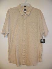 "VOLCOM Men's S/S Button-Up Shirt ""Everett Print"" SIB - XXLarge - NWT"