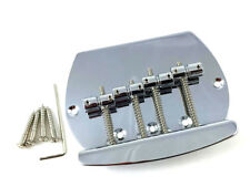 Chrome 4-String Music Man® OLP Style Bass Bridge BB-MM4-C