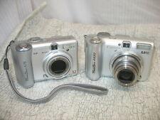 2 Parts Repair Digital Cameras Canon Powershot A630 & A75