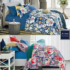 Quilt Duvet Doona Cover Set Queen/King Modern Pattern Printed Mr Cotton  H117
