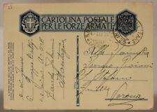 POSTA MILITARE n. 25 AICPM P. 4 FRANCHIGIA TIMBRO D'ARRIVO  3.5.1936 AOI #XP137