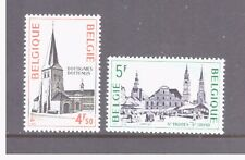 Belgium MNH 1975 Architecture set mint  stamps