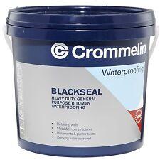 Crommelin BLACKSEAL 4L Water Proof, Heavy Duty General Purpose Bitumen AUS Brand