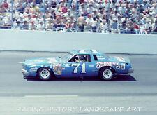 1979 8X10 PHOTO CHARLOTTE WORLD 600 #71 DAVE MARCIS SHONEY'S CHEVROLET NASCAR