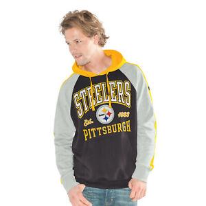 G-III Sports Pittsburgh Steelers Men's The Closer Pullover Hoody Sweatshirt