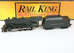 MTH Rail King 2-8-0 Pennsylvania Steam Locomotive w Proto Sound 2.0 - 30-1159-1