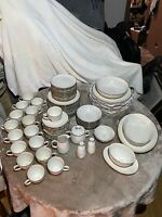 Vintage Noritake Candlelight 7544 Ivory China 85-piece Set