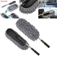 LARGE Car Cleaning Duster Cars Home Microfiber Wax Treated Handle Brushes
