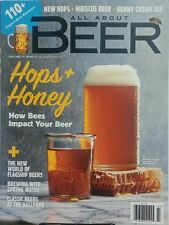 All About Beer July 2017 Hops + Honey How Bees Impact Your Beer FREE SHIPPING sb