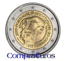 2 Euros Conmemorativos PORTUGAL 2019 *Magallanes* Sin Circular