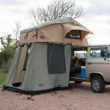 """TUFF STUFF RANGER ROOFTOP TENT WITH ANNEX ROOM & BLACK DRIVING COVER- 56""""X96"""""""