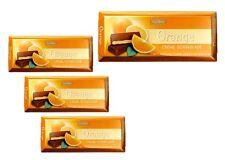 Orange Cream Chocolate - four (4) Bars - Old German Brand
