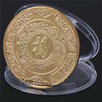 2020 Glücksjahr der Ratte Gedenkmünzensammlung Münzen Glück  MYT