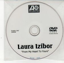 (DS579) Laura Izibor, From My Heart To Yours - 2008 DJ DVD