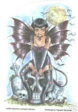 Nightfall Devil sticker  punk emo  goth gothic magic