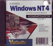 Learn Windows NT 4 Amministrazione Volume 2 Nuovo & Sigillato