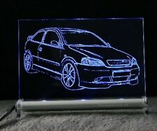 Opel Astra G Coupe Auto Engraving On LED Light Sign