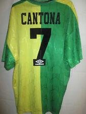 Manchester United Cantona 1992-1993 Newton Heath Football Shirt Trikot XXL /6125