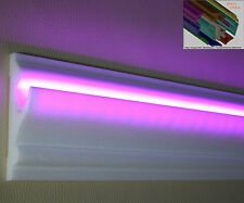 """Stuckleisten Stuckprofile LED indirektes Licht 18 M+3 I-Ecken Dekor """"Beret"""""""