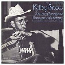 KILBY SNOW - COUNTRY SONGS AND TUNES WITH AUTOHARP NEW CD
