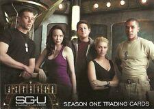 Stargate Universe Sn 1 - 72 card base set